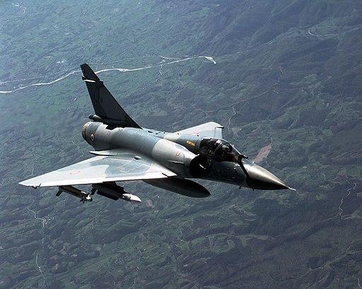Mirage 2000C in-flight