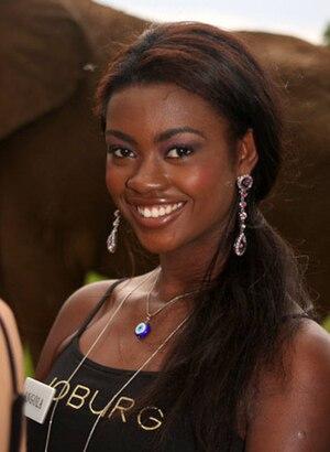 Miss Angola - Birgite dos Santos, Miss World Angola 2008