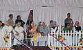 Mohd. Hamid Ansari, the Prime Minister, Dr. Manmohan Singh, the Union Minister of Science & Technology and Earth Sciences, Shri Kapil Sibal, the Chief Minister of Delhi, Smt. Sheila Dikshit and the Chairperson, UPA.jpg