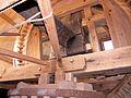 Molen De Korenbloem, Kortgene bovenwiel bovenrondsel busdeur.jpg