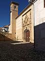 Monasterio de Santa Isabel la Real, Granada. Compás.jpg