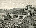 Moneglia fortezza detta di Villafranca e ponte sul Bisagno.jpg