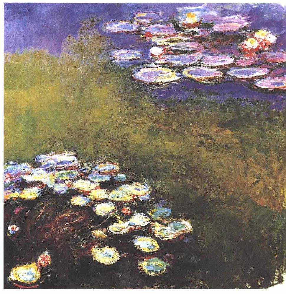 Monet - Seerosen6