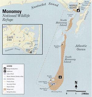 Monomoy Island island in the United States of America