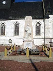 Monument aux morts at Vron.JPG