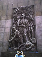 Monument of ghetto uprising