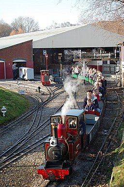 Moors Valley Railway, Moors Valley Country Park, Dorset - geograph.org.uk - 1175333