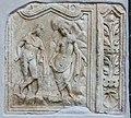 Moosburg Pfarrkirche roemisches Grabbaurelief Perseus und Andromeda 11092016 4137.jpg