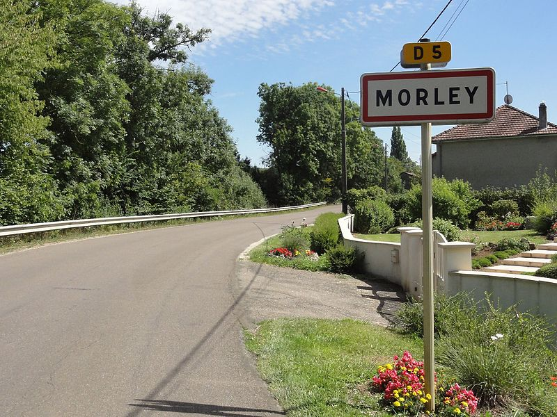 Morley (Meuse) Morley (Meuse) city limit sign