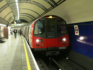 Northern line London Underground line