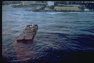<i>Morris J. Berman</i> oil spill Oil spill on the shores of San Juan, Puerto Rico
