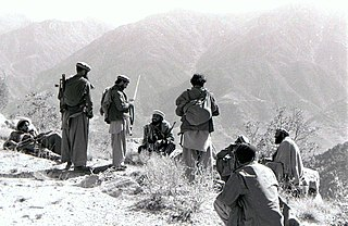 War between the Soviet Union and Afghan insurgents, 1979-89
