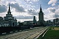 Moscow, tram tracks on Komsomolskaya Square (21248323505).jpg