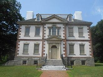 Mount Pleasant (mansion) - Image: Mount Pleasant main house