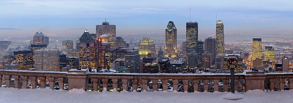 Mount Royal Montreal Lookout