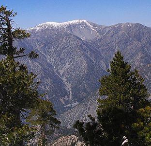 List Of Mountain Peaks Of California Wikipedia