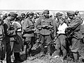 Movie camera, prisoner of war, war correspondent, Soviet soldier, woman soldier Fortepan 29158.jpg