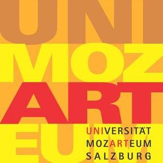 Mozarteum University Salzburg - Mozarteum logo