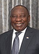 Mr. Houlin Zhao, ITU Secretary-General with H. E. Mr. Cyril Ramaphosa, President, South Africa (cropped).jpg