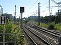 Muenchen-Ostbf. - lines to Giesing diverge from the S-Bahn Stammstrecke - geo.hlipp.de - 26580.jpg