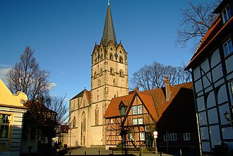 Herford Abbey - Former Herford Abbey church, now Herford Minster