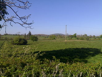 Mullaghmeen - Mullaghmeen Hill viewed from Coole