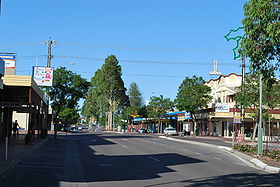 La grand rue de Murray Bridge