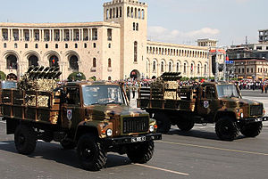 N-2 - Armenian N-2 systems on parade in Republic Square, Yerevan.