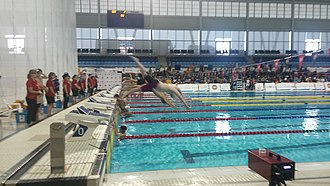 2017 North American Indigenous Games - Swimming competition at Toronto Pan Am Sports Centre, Toronto