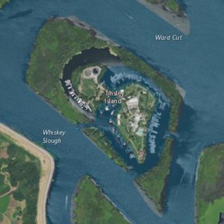 Tinsley Island Island in California