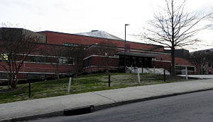 North Carolina Central Eagles - NCCU's McLendon-McDougald Gymnasium home to the Eagles who are members of NCAA Division I MEAC