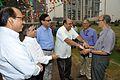 NCSM Dignitaries with Samar Bagchi - MSE Golden Jubilee Celebration - Science City - Kolkata 2015-11-17 4834.JPG