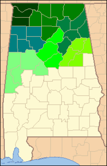 United States District Court For The Northern District Of Alabama - Map of northern alabama