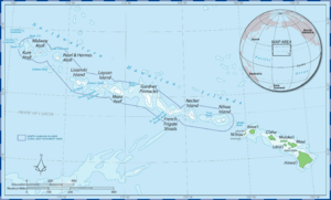 Map of Papahānaumokuākea Marine National Monum...