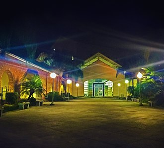 New Orleans Center for Creative Arts - Image: NOCCA Campus at night