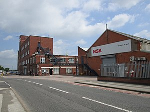 Ransome & Marles - Some of the remaining buildings Newark-on-Trent June 2014