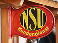 NSU Kundendienst, enamel car advert pic1.JPG