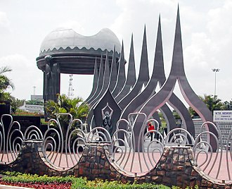 N. T. Rama Rao - N.T.Rama Rao's memorial at NTR Gardens, Hyderabad