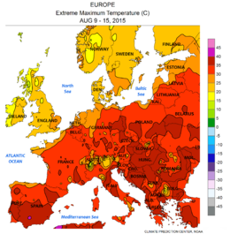 NWS-NOAA Europe Extreme maximum temperature AUG 09 - 15, 2015.png