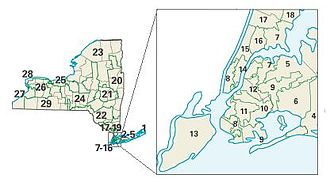 2004 United States House of Representatives elections - New York congressional districts in the 2004 elections