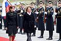 Na uradnem obisku v Sloveniji ministrica za obrambo Črne gore dr. Milica Pejanović-Đurišić 05.jpg