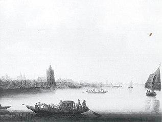 Riverbank near Dordrecht, 1641