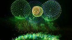 ファイル:Nagaoka Festival Fireworks 2015 Extra Large Miracle Starmine 20150803.webm