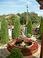 Nagymuzsaly, Hangulat étterem kerti szökőkút - panoramio (1).jpg