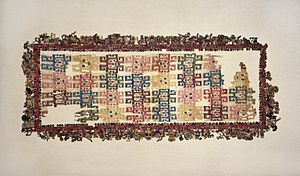 "Andean textiles - Image: Nasca. Mantle (""The Paracas Textile""), overall"