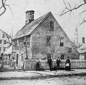 Pawtucket, Rhode Island - Image: Nathaniel Jenks House Pawtucket RI