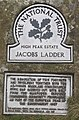 National Trust sign, Jacobs Ladder - geograph.org.uk - 1025502.jpg