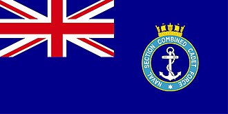 Blue Ensign - Image: Naval Section Combined Cadet Force Ensign