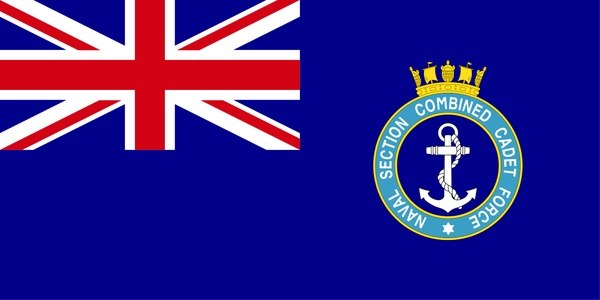 Naval Section Combined Cadet Force Ensign
