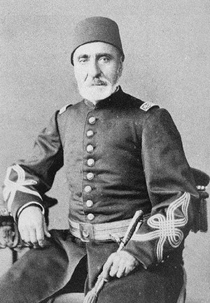 Imperial anthems of the Ottoman Empire - Necip Ahmed Pasha composed the Hamidiye Marşı (March of Abdulhamid)
